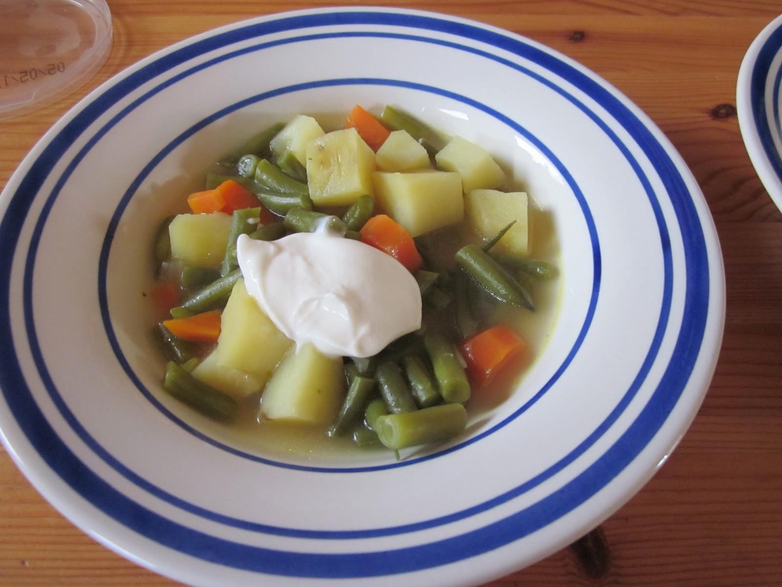 soup green bean luxembourg soup bouneschlupp green bean soup ...