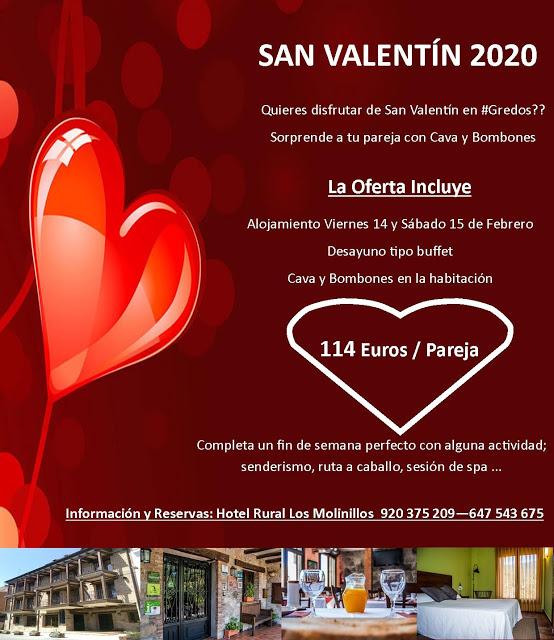 OFERTA SAN VALENTÍN 2020
