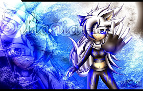 Regalo De Shade Dark The Hedgehog *-* (via facebook)