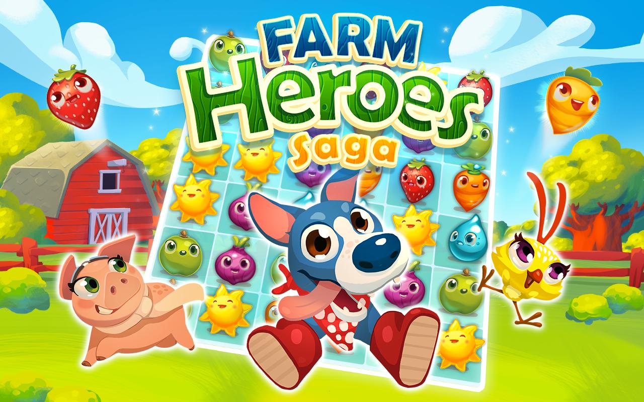 Farm Heroes Saga gratis para smartphones y tablets