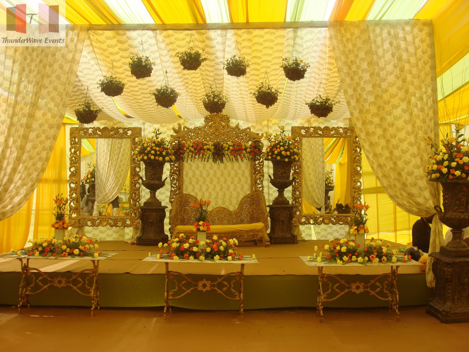 indian wedding stage decorations | Reference For Wedding Decoration