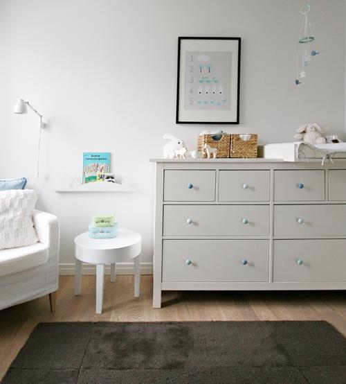 Pintar los pomos de la c moda hemnes de ikea con un pincel - Tiradores y pomos para muebles ...