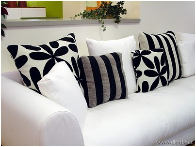 CUSHIONS FROM ZEBRA LIVING ROOM DESIGN