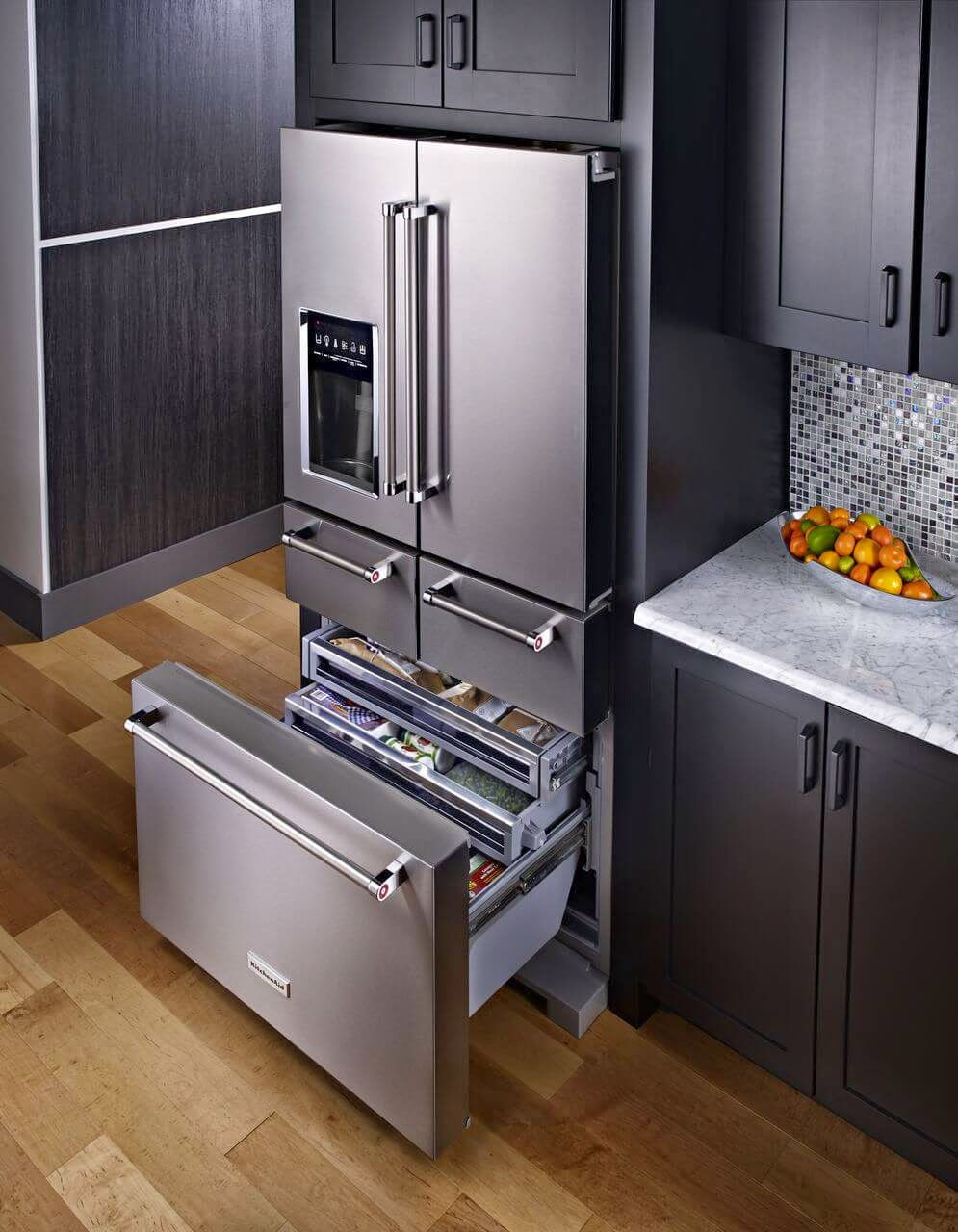 //.appliancereports.com & 2015 KitchenAid 5 Door Fridge - Informative Kitchen Appliance Reports