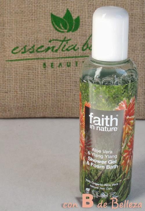 Gel de ducha y baño de Faith in nature