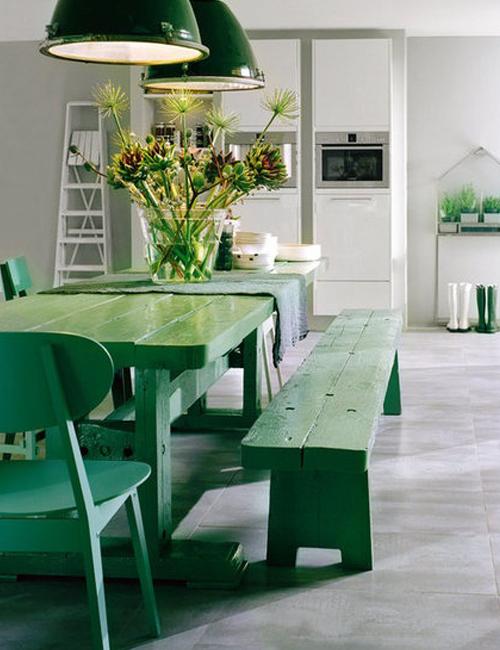 Chicdeco Blog | 10 bellos comedores con mesas de picnic10 beautiful ...