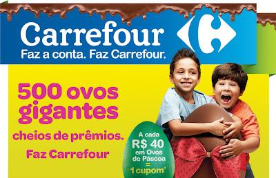 """Promoção """"Ovos Gigantes Carrefour"""""""