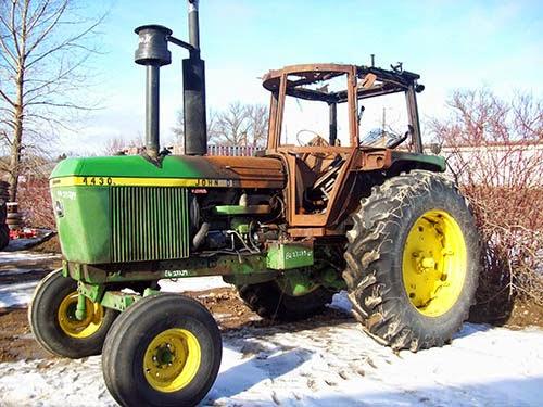 used John Deere 4430 tractor parts