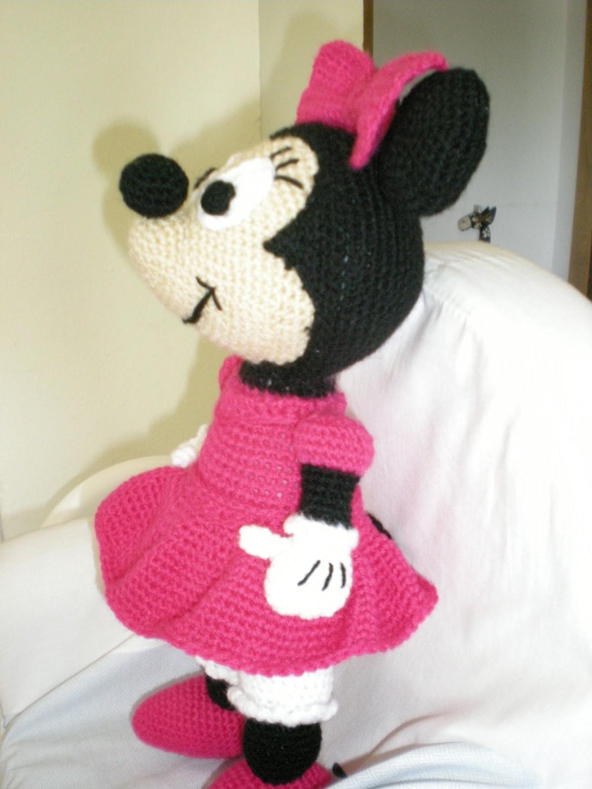 Atractivo Ganchillo Libre De La Muñeca Del Patrón De Mickey Mouse ...