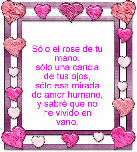 Frases Test Poemas Amor Julio