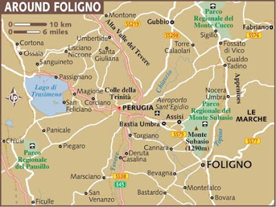 Mappa Politica di Foligno