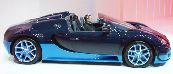 Bugatti Salão de Genebra 2012