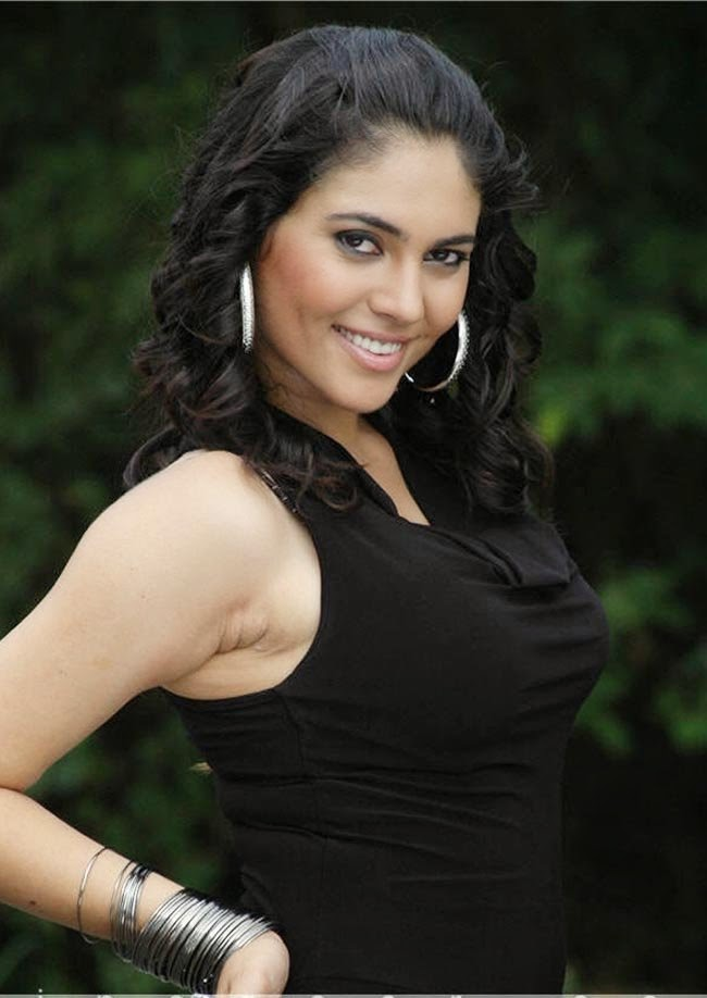 SHERIN SOUTH ACTRESS IN BLACK COSTUME PIC