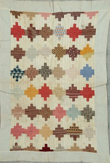 Barbara Brackman's MATERIAL CULTURE: Odd Log Cabin: A Free Quilt ... : free courthouse steps quilt pattern - Adamdwight.com