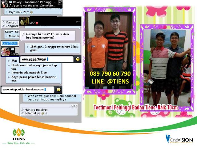 Testimoni Peninggi Badan Tiens Bandung, Bukti NHCP Tiens Bandung, Kesaksian Obat Tinggi Badan Tiens Bandung, Obat Peninggi Badan Tiens Bandung, Susu Kalsium NHCP Tianshi