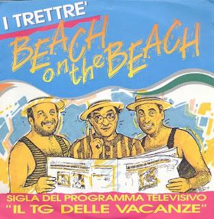 """I Trettrè - Beach On The Beach (1991 - 7"""")"""