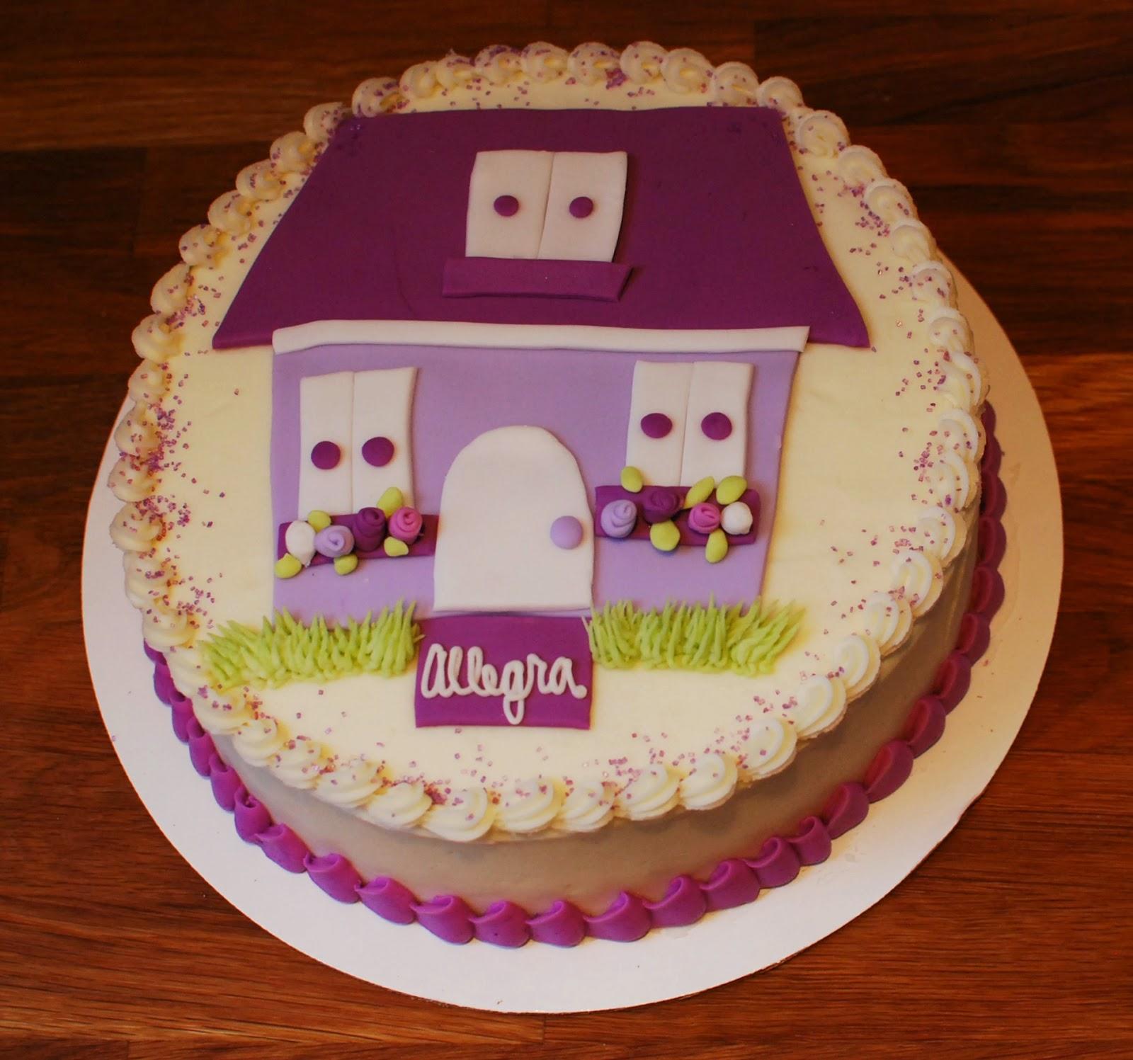 Snacky French Princess Aurora And A Dollhouse Cake