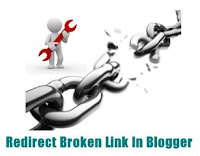 Cara Redirect Broken Link Blogger