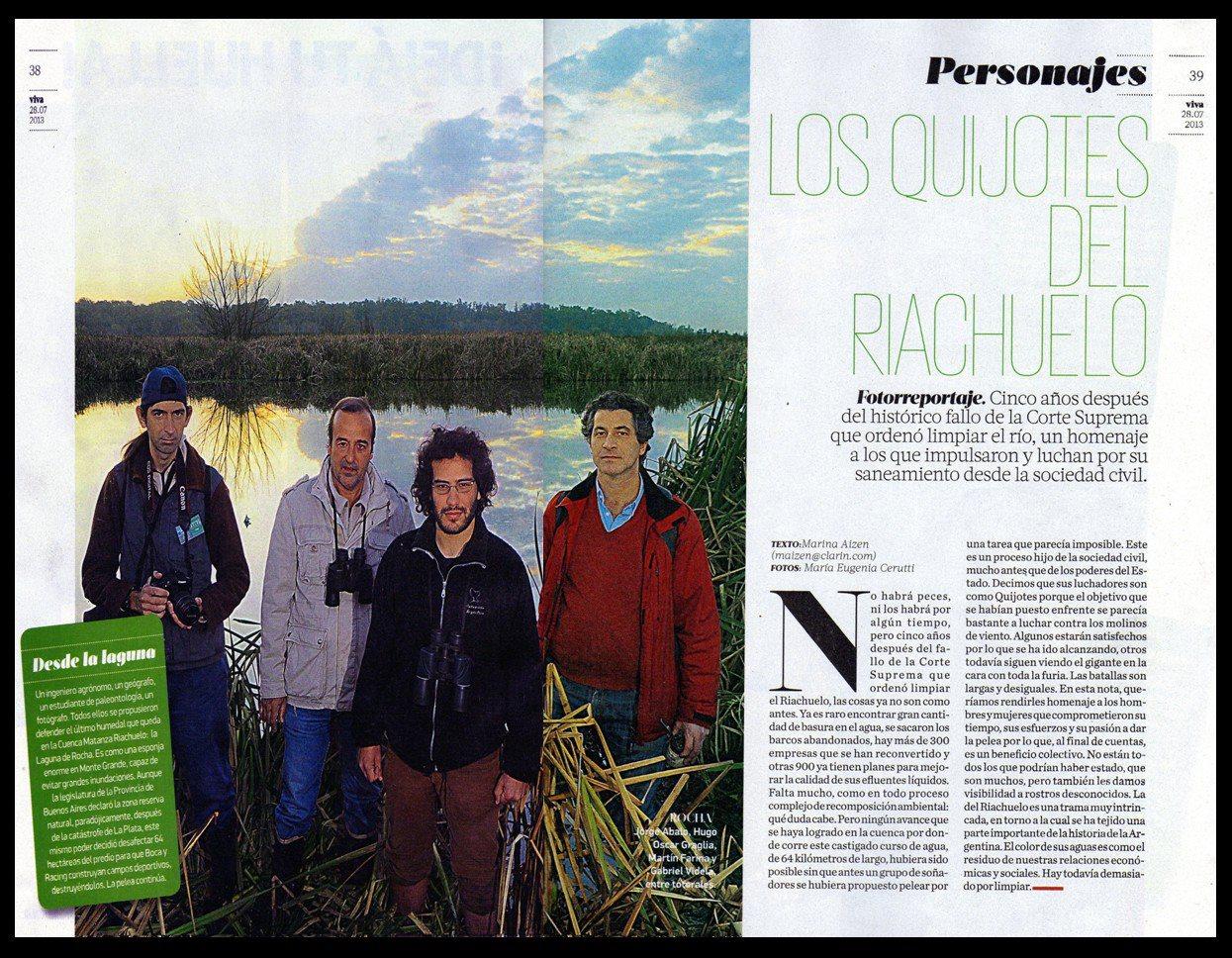 Los Quijotes del Riachuelo