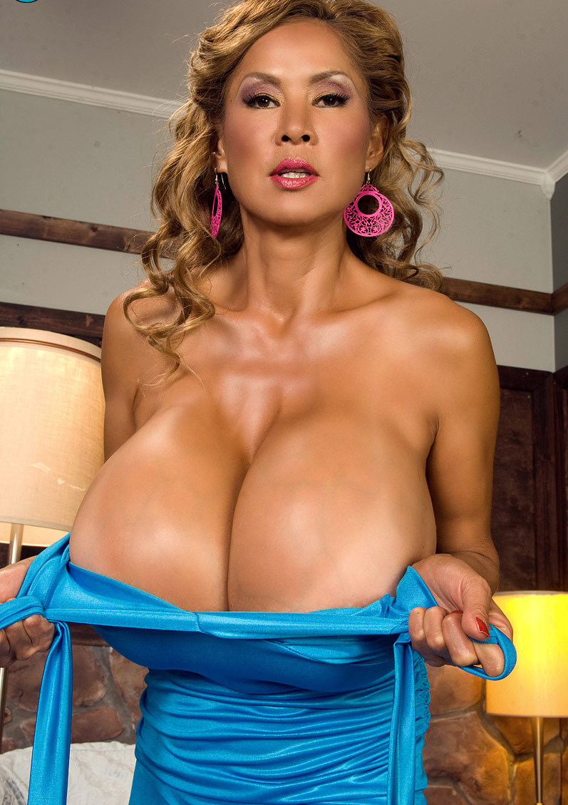 Milf with enormous tits