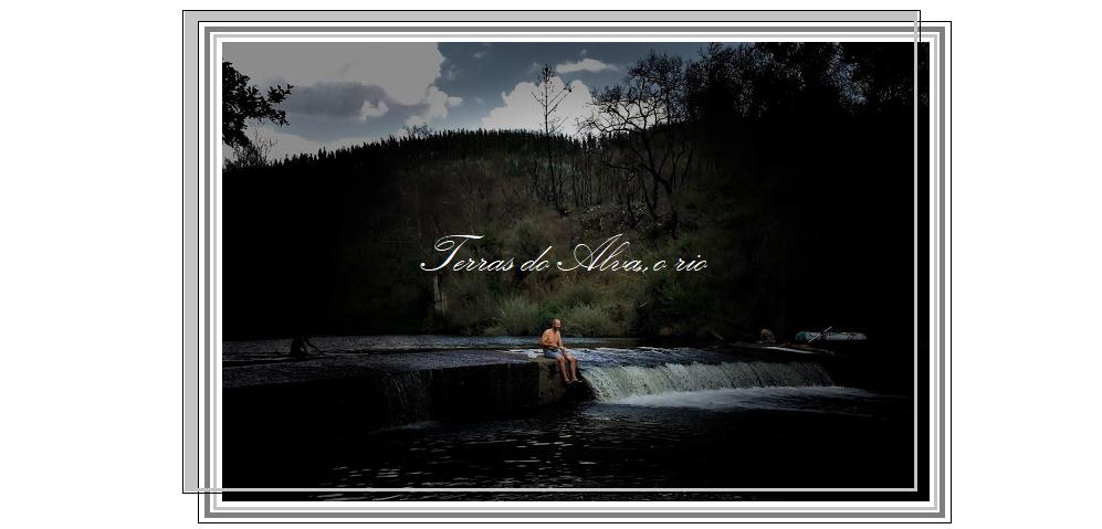 terras do Alva, o rio