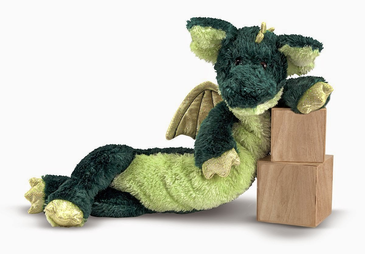 Melissa & Doug Princess Soft Toys Longfellow Dragon