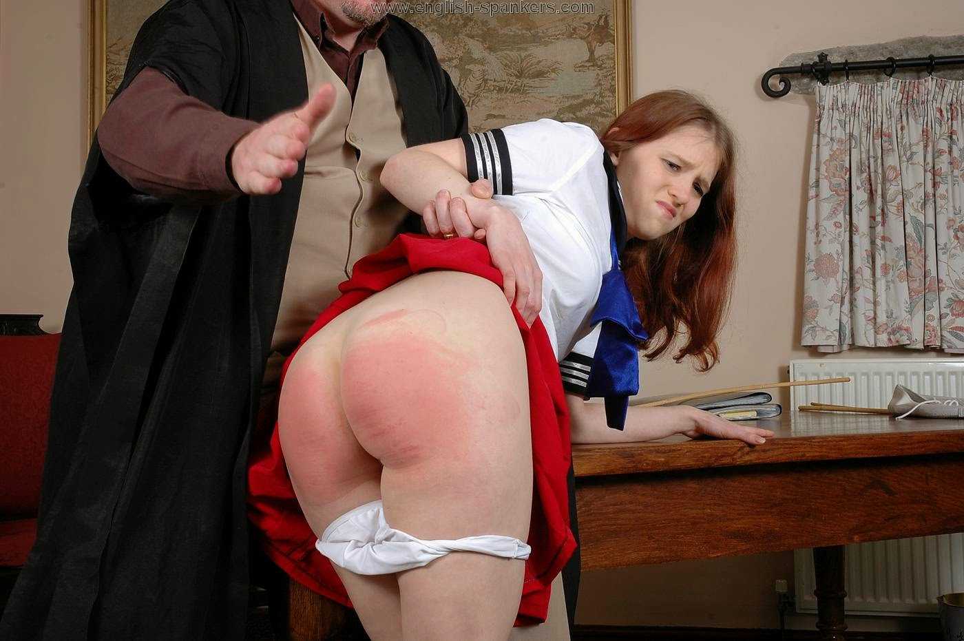hot school girls caned