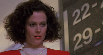 SIGOURNEY WEAVER as Katherine Parker in WORKING GIRL