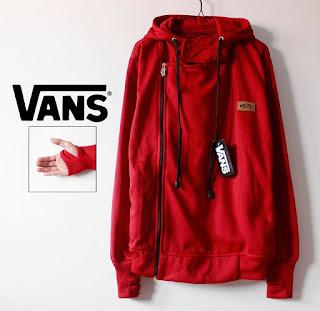 Jaket Naruto Merah