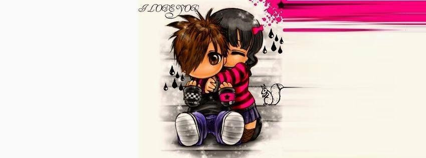 Couverture facebook deux amoureux