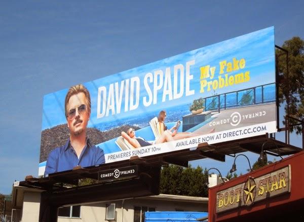 David Spade My Fake Problems Comedy Central billboard