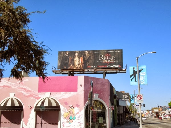 Reign season 1 billboard