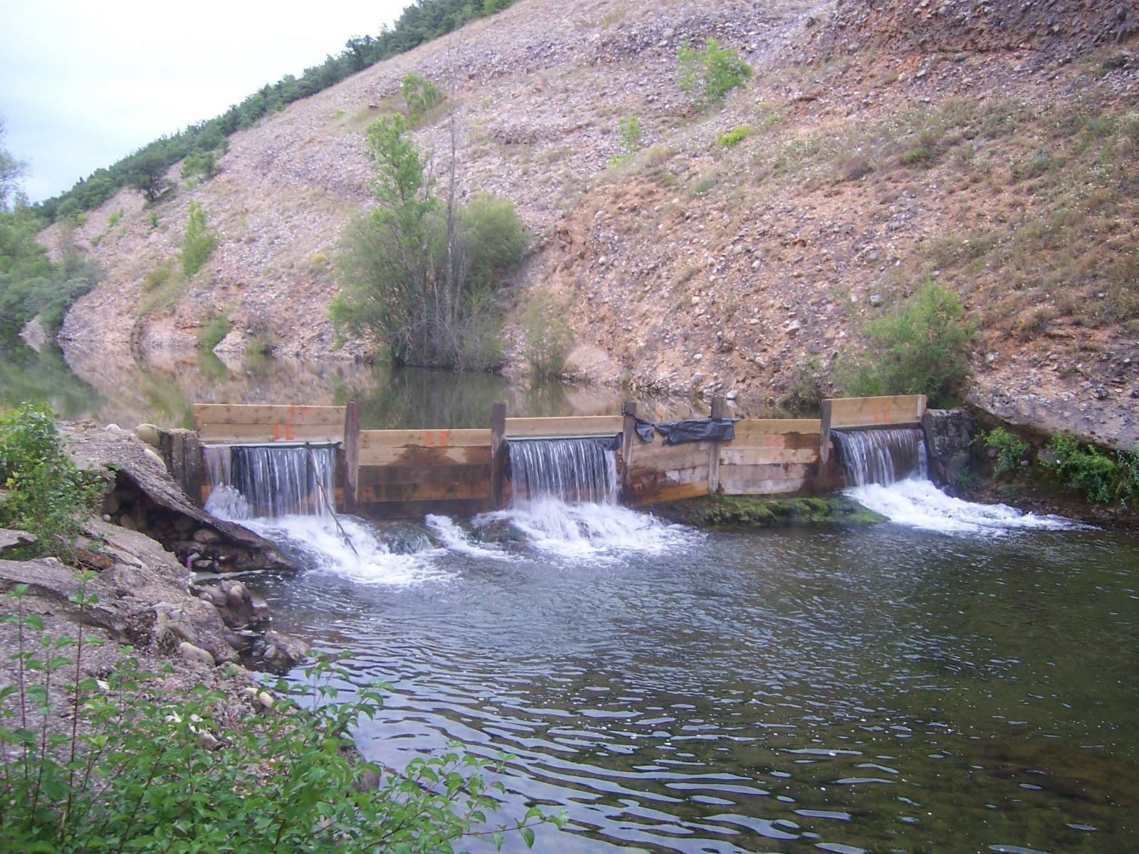 El blog de la mata de curue o le n piscina fluvial for Piscinas fluviales leon