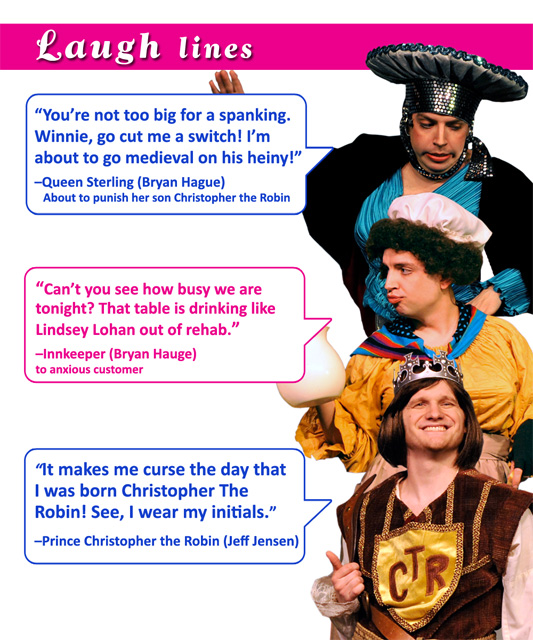 "Desert Star Playhouse: Laugh Lines From ""The Princess Bridesmaid"""