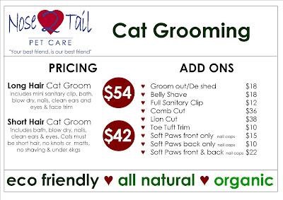 Dog Grooming Prices Australia