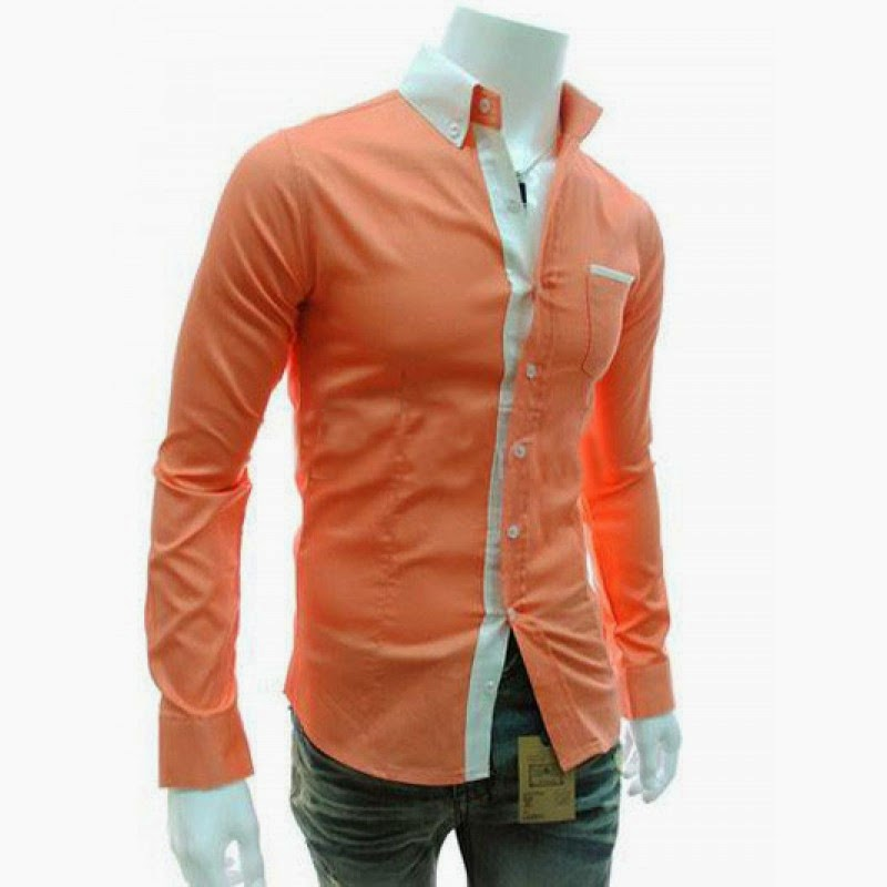 Malik Stitchers ملك : Boys Shirts in Peach Color | Men's Dressing ...