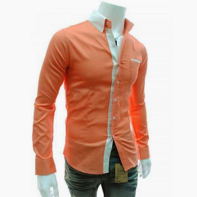 Malik Stitchers ملك : Boys Shirts in Peach Color   Men's Dressing ...