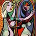 """Ayna Karşısındaki Kız """"Girl Before a Mirror - Picasso"""