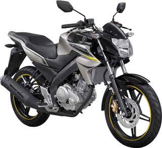 New Yamaha Vixion Black Gold 2013