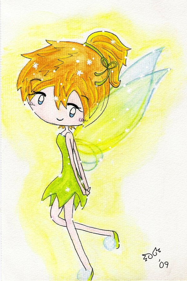 Tinker Bell por gold-angel-ia