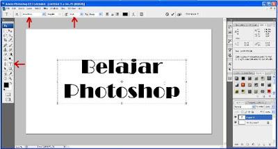 Membuat Tulisan Warna Penlangi Dengan Photoshop