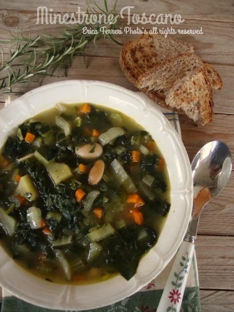 ogni riccio un pasticcio - blog di cucina: minestrone toscano - Come Si Cucina Il Minestrone