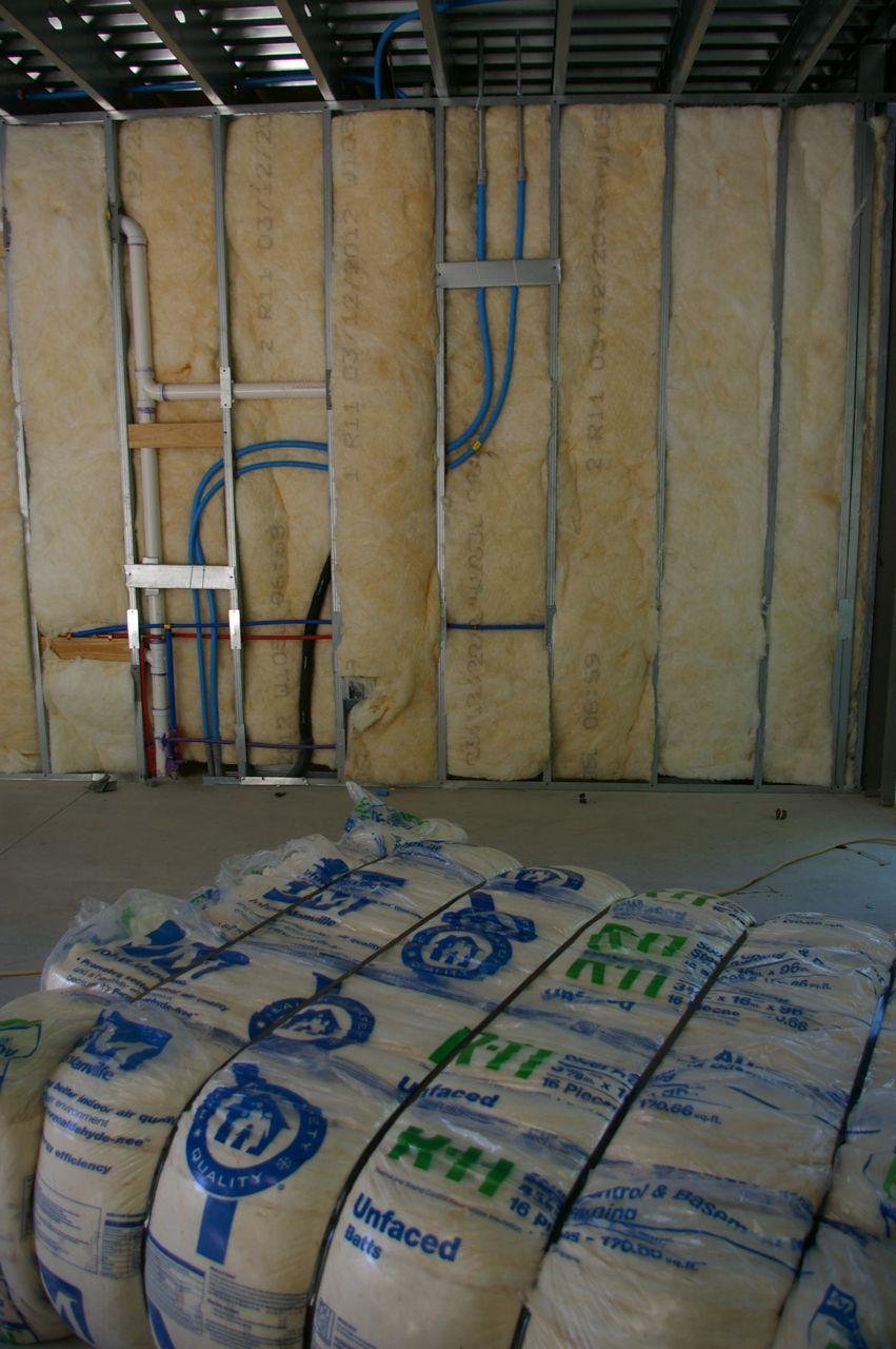 Quiet Batt Soundproofing Insulation : Batt insulation home design ideas