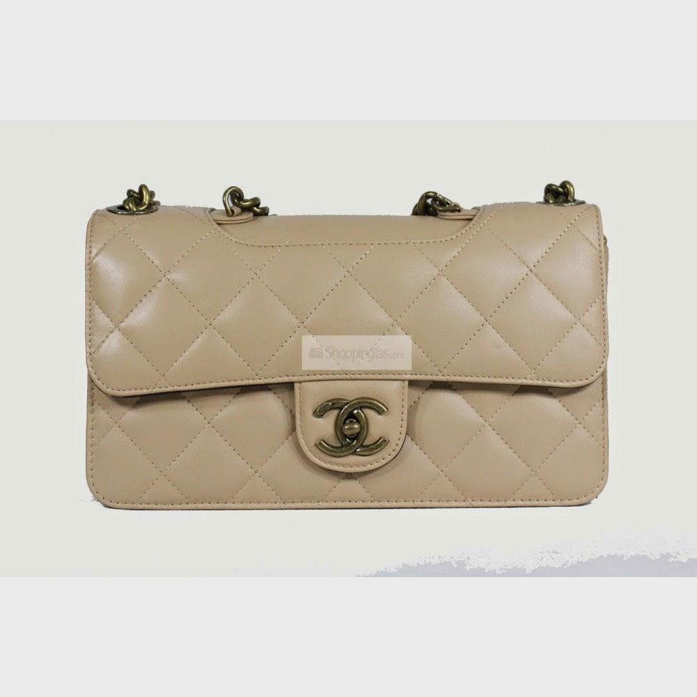 Tas Chanel C2016 Cream (Aneka Produk Tas Wanita)