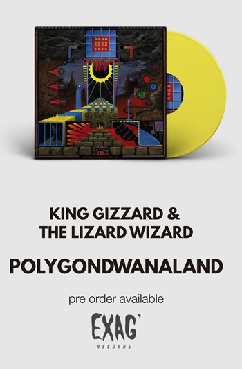 New Album | King Gizzard & The Lizard Wizard on EXAG' Records