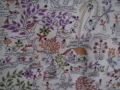 The Color Caravan Kantha Embroidery
