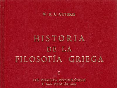 Historia de la Filosofía Griega I