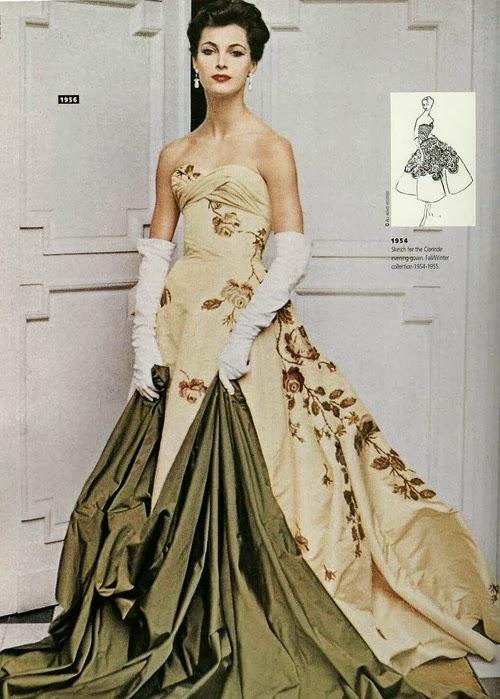 Vintage Gold Dresses 105