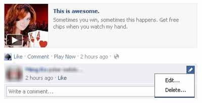 Komentar Di Facebook Sekarang Bisa Diedit