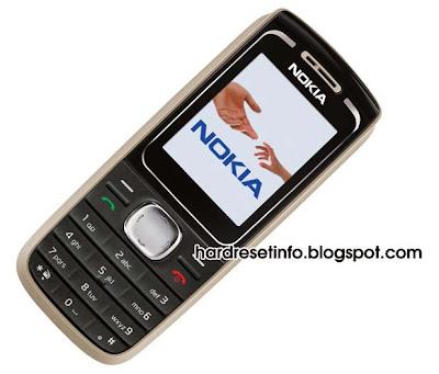 Hard Reset Nokia 1650